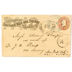 Holladay Overland Mail & Express / Wells Fargo Cover