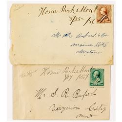 Home Park, Madison: Two Manuscript Covers