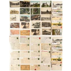 Missoula County Postcard Collection