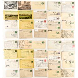 Musselshell County Postcards / Postal Cards