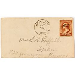 Newlon, Richland Postal History Cover