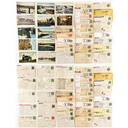 Teton County Postcards / Postal Cards