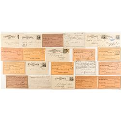 Remainder of Montana 'Fort' Postal History Pieces