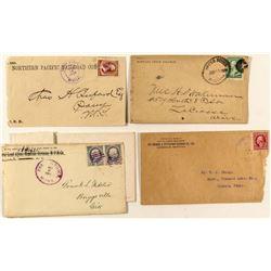 Railroad Related Montana Postal History