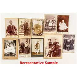 Montana Cabinet Card Photo Collection