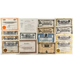 Montana Mining Stock Certificate Collection