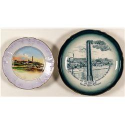 Two Montana Mining Souvenir Plates, #2