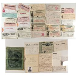 Montana Ephemera Collection (Checks & Billheads)