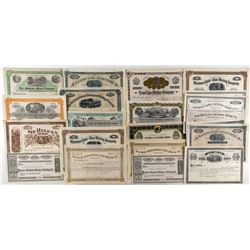 Unissued Montana Mining Stock Certificates