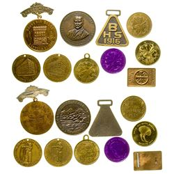 Butte Commemorative Badge Collection