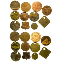 Butte Mining Collection (ID tags)