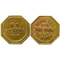 The Bank Saloon Token (Granite County)