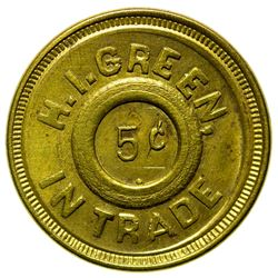 H. I. Green Token (Fergus County)