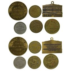 Six Glasgow Tokens