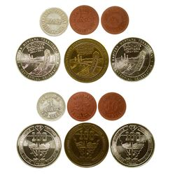 Five Glendive Tokens