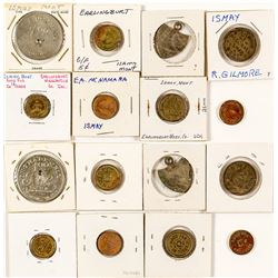 Ismay Town Token Collection (Custer County)