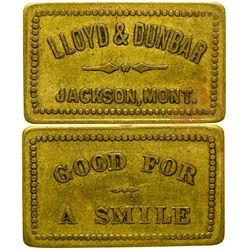 Lloyd & Dunbar Token (Beaverhead County)