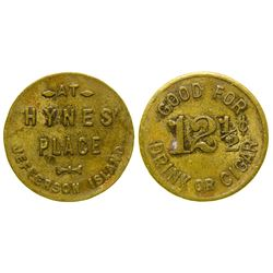 Hayne's Place Token (Madison County)