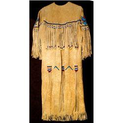Beaded, Fringed Native American Dress