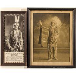 "Two Photos of ""Chief Paconda"""