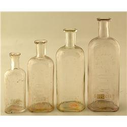Thaxter Bottles, Four Different Sizes!