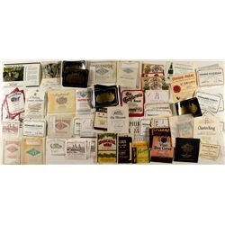 Napa, French and Other Wine Labels