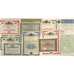 Ford Motor Company Stock Certificates (12)