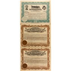 Pan Motor Company Stock Certificates