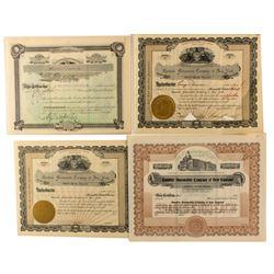 Rambler Automobile Co. Stock Certificates
