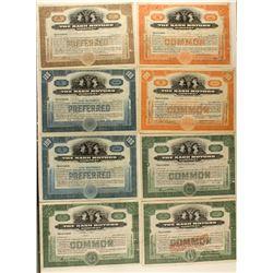 The Nash Motors Company Stock Certificates