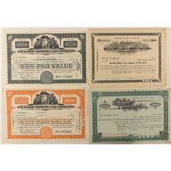 Packard Motor Car Co. Stock Certificates