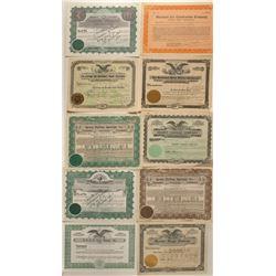 Auto Repair Stock Certificates