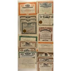 Bus Companies Stock Certificate Collection