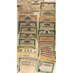 Auto Sale Stock Certificates
