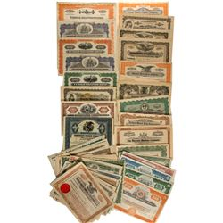 Auto. Suppliers Stock Certificates Variety Group