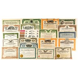 Tire Company Stock Certificate Collection