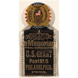 President Grant Memorial Ribbon (Grand Army of the Republic)