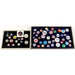 Mini Collection of Presidential Buttons