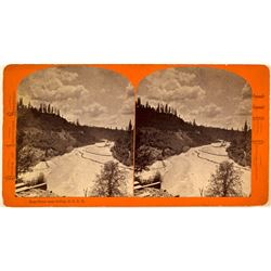 Stereoview of Bear River