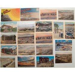 Death Valley Postcard Collection