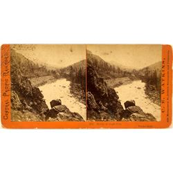 Bridge at Eagle Gap Stereoview