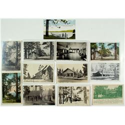 Al Tahoe Collection of Postcards
