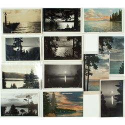 Tahoe Sunrise/Sunset Postcards