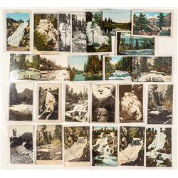 Tahoe Waterfalls and Rivers Postcards