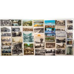 San Jacinto and Hot Springs Postcards
