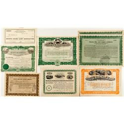Shasta Stock Certificate Collection