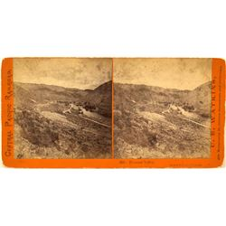 Pleasant Valley, CPRR Stereoview