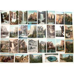 Yosemite Valley Color Postcard Collection