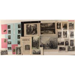 Yosemite Prints, Etchings, & Early Views