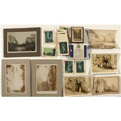 Yosemite Photographs and Playing Card Set